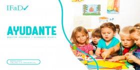 AYUDANTE DE MAESTRA JARDINERA Y GUARDERÍA INFANTIL