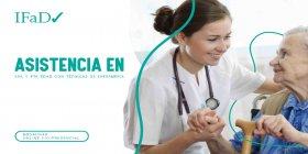 ASISTENTE EN 3ra y 4ta EDAD - CUIDADOR DOMICILIARIO c/ TÉCNICAS DE ENFERMERÍA