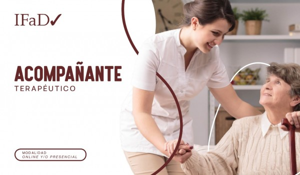 CURSO DE ACOMPAÑANTE TERAPÉUTICO - CERTIFICACIÓN UNIVERSITARIA
