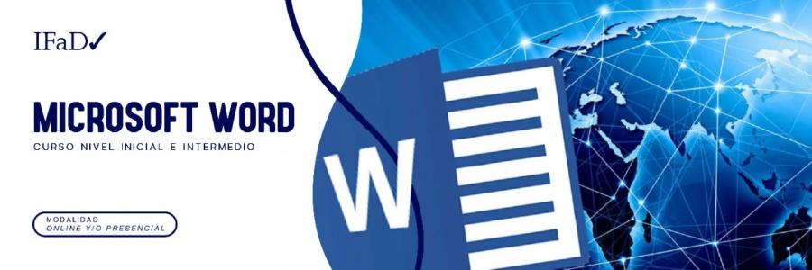 CURSO MICROSOFT WORD - NIVEL INICIAL E INTERMEDIO